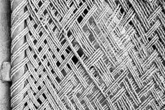 Textura de bambu da corda Fotos de Stock Royalty Free