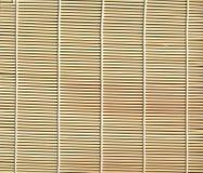 Textura de bambu da esteira fotos de stock