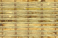 Textura de bambu do close-up Fotografia de Stock