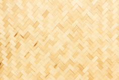 Textura de bambu do weave Foto de Stock