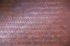 Textura de bambu do weave imagens de stock