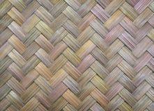 Textura de bambu tingida Imagens de Stock Royalty Free
