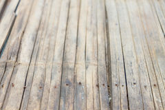 Textura de bambu velha do fundo Fotografia de Stock Royalty Free