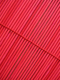 Textura de bambu vermelha Imagens de Stock