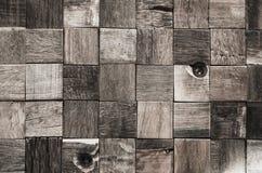 Textura de bloques de madera Fotos de archivo libres de regalías