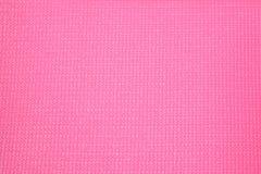Textura de borracha cor-de-rosa da esteira Imagens de Stock