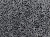 Textura de borracha preta Imagem de Stock Royalty Free