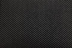 Textura de borracha preta da tela Imagem de Stock Royalty Free