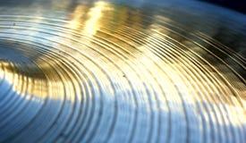 Textura de bronze Fotografia de Stock Royalty Free