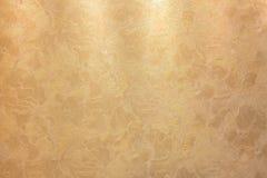 Textura de bronze dourada do fundo Imagens de Stock Royalty Free