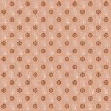 Textura de Broun com testes padrões Fotos de Stock