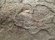 Textura de Brown da pedra lisa Fotos de Stock Royalty Free