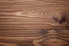 Textura de Brown de los tablones del pino Fotos de archivo libres de regalías