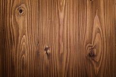 Textura de Brown de los tablones del pino Foto de archivo