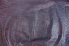 Textura de Brown del cuero arrugado de un pedazo de ropa foto de archivo libre de regalías