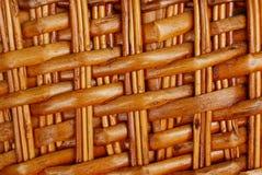 Textura de Brown de ramos finos secos na tecelagem imagens de stock
