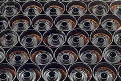 Textura de caixas do filme do milímetro imagem de stock royalty free