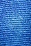Textura de calças de brim velhas Fotos de Stock Royalty Free