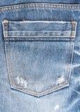 Textura de calças de ganga Foto de Stock