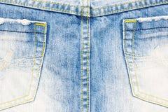 Textura de calças de ganga imagens de stock