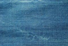 Textura de calças de ganga Imagem de Stock
