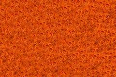 Textura de cenouras vermelhas raspadas frescas no formulário Foto de Stock Royalty Free