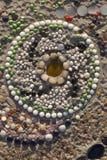 Textura de cerámica del piso Imagen de archivo