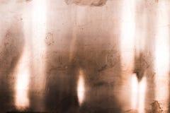 Textura de cobre de la superficie de metal Imagen de archivo