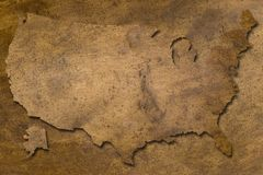 Textura de cobre de los E.E.U.U. libre illustration