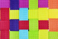 Textura de Colorfull de uma caixa Foto de Stock