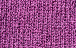 Textura de confecção de malhas Fotografia de Stock