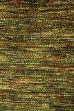 Textura de confecção de malhas verde feito a mão de lãs Imagens de Stock