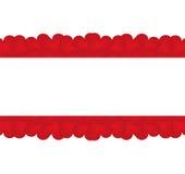 Textura de corações vermelhos Imagens de Stock