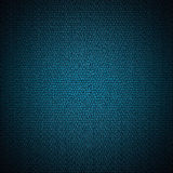 Textura de couro azul Fotos de Stock Royalty Free