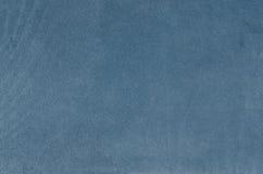 Textura de couro azul Imagens de Stock Royalty Free