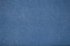 Textura de couro azul Foto de Stock Royalty Free