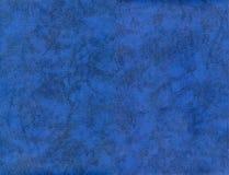 Textura de couro azul do QG XXL Fotografia de Stock
