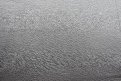 Textura de couro cinzenta fotos de stock