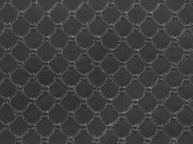 Textura de couro cinzenta Imagem de Stock