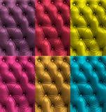 Textura de couro colorida Foto de Stock Royalty Free