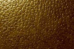 Textura de couro de Brown Imagem de Stock