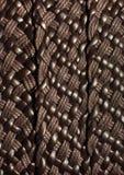 Textura de couro de tecelagem do fundo Imagem de Stock