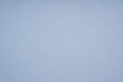 Textura de couro do falso azul Fotos de Stock Royalty Free