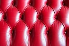 Textura de couro do teste padrão do sofá para o fundo do projeto foto de stock