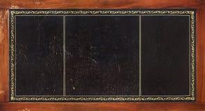 Textura de couro intricada do tabletop fotografia de stock