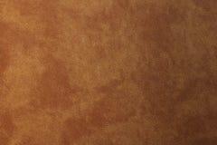 Textura de couro marrom velho listrado, fundo abstrato imagem de stock