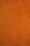 Textura de couro olá! res de Brown Foto de Stock