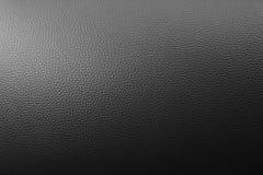 Textura de couro preta Fotografia de Stock Royalty Free