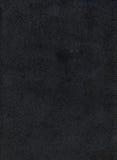 Textura de couro preta do fundo Foto de Stock