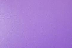 Textura de couro roxa Foto de Stock